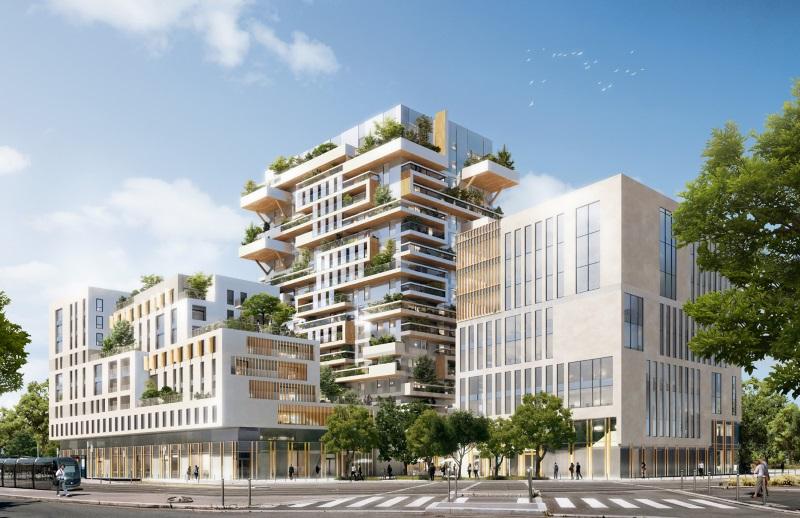 Empreinte carbone – Une haute tour en bois à Bordeaux