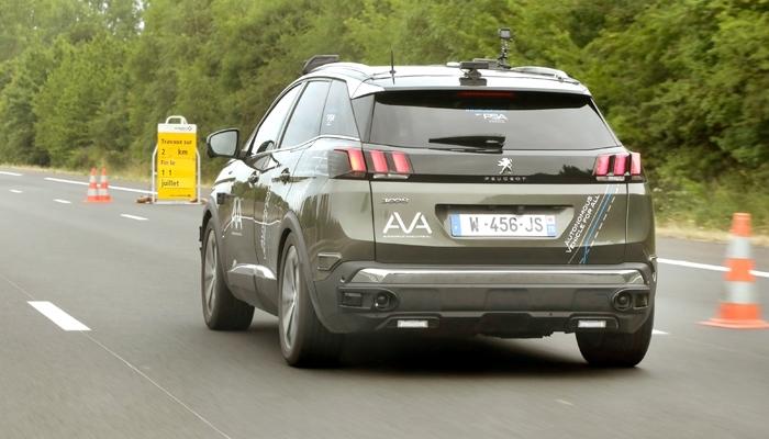L'A10 accueille les tests pour les voitures autonomes