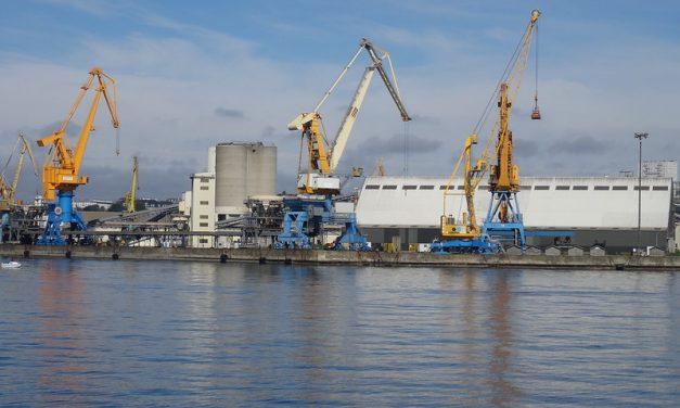 Port de Brest – LafargeHolcim livre les matériaux par voie maritime