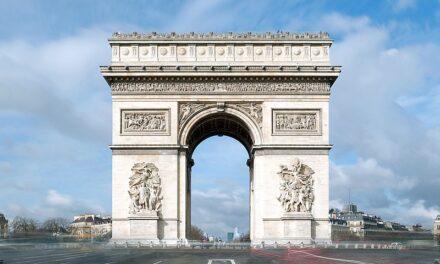L'Arc de Triomphe sera empaqueté dans un peu plus d'un mois
